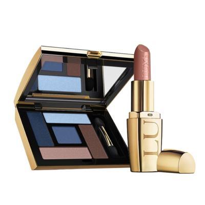 Imagem 1 do produto Kit Precioso: Batom Nude Citrino + Sombra para Olhos Agua Marinha