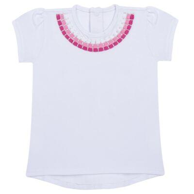 Imagem 1 do produto Blusinha mullet em cotton Maxi Colar - Missfloor
