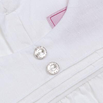 Imagem 2 do produto Bata manga longa em tricoline Off White - Missfloor - 50NV0001.369 BATA M/L - TRICOLINE-1