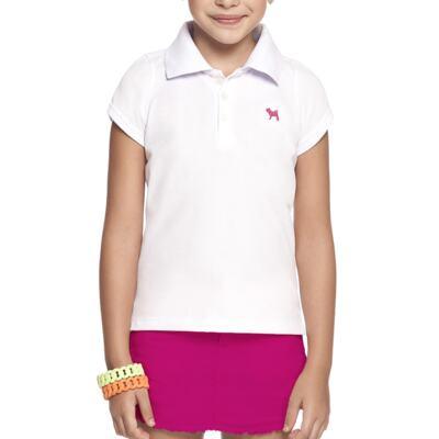 Imagem 2 do produto Blusinha Polo em piquet Branca - Charpey