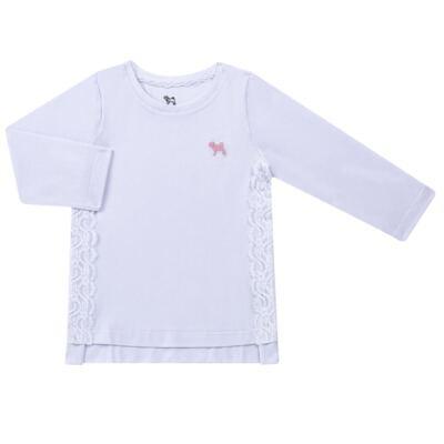 Imagem 1 do produto Blusinha em cotton Renda Branca - Charpey