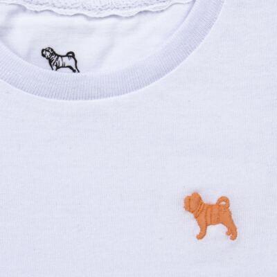 Imagem 2 do produto Blusinha em malha Branca - Charpey