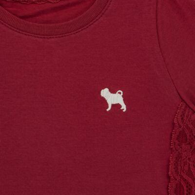 Imagem 2 do produto Blusinha em cotton Renda Chilli Pepper - Charpey