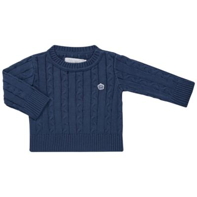 Imagem 1 do produto Blusão em tricot Azul - Baby Classic