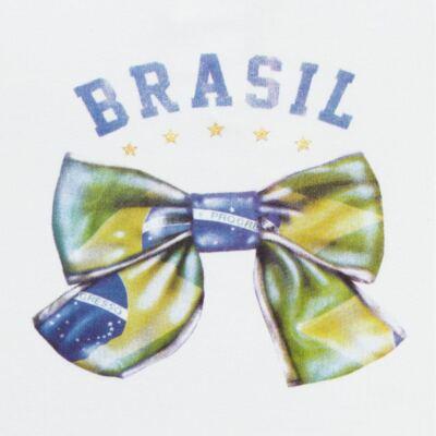 Imagem 2 do produto Blusinha bufante para bebe em cotton Brasil - Baby Classic - 671352 BLUSINHA BÁSICA FEM. COTTON COPA-G