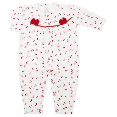 Imagem 1 do produto Macacão longo para bebe em algodão egípcio Bouquet - Tilly Baby - TB183160 MACACAO LONGO FEM PASSARINHA-M