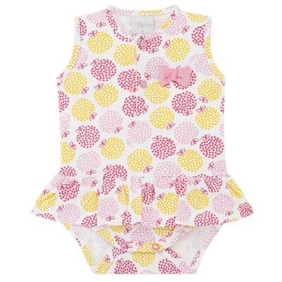 Imagem 1 do produto Body vestido para bebe em suedine Sweet Apple - Tilly Baby - TB183016 BODY FEM MAÇA-G