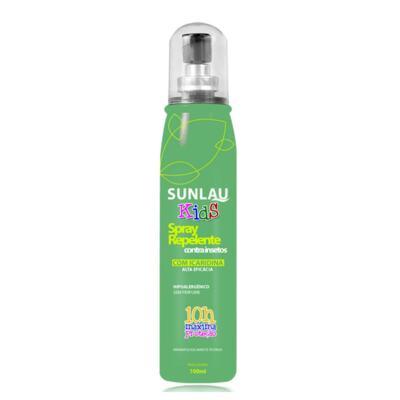 Imagem 2 do produto Repelente Sunlau com Icaridina Kids Spray 100ml