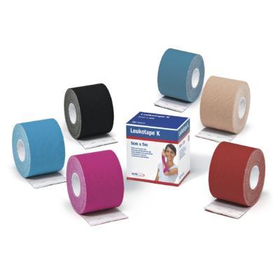 Imagem 4 do produto Leukotape 5 Cm X 5 M Preto Bsn Medical