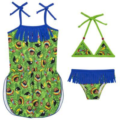 Imagem 1 do produto Conjunto de Banho Índia: Biquíni + Saída de praia - Cara de Criança - KIT 1 2525: B2525 + SPA2525 BIQUINI E SAIDA DE PRAIA INDIA-2