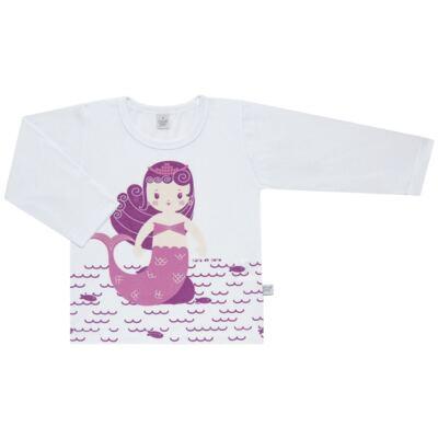 Imagem 2 do produto Pijama longo em malha Mermaid - Cara de Sono - L1995 PEQUENA SEREIA L PJ-LONGO M/MALHA -4