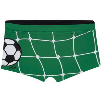 Imagem 4 do produto Conjunto de Banho Football: Camiseta surfista + Sunga - Cara de Criança - KIT 1 2529: SB2529+CSA2529 SUNGA E CAMISETA FUTEBOL-1