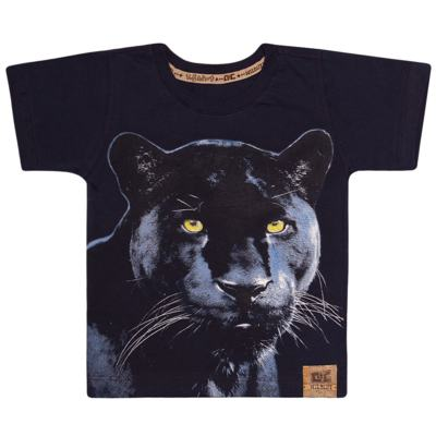 Imagem 1 do produto Camiseta que Brilha no Escuro Pantera - CDC T-Shirt - CMC0993 CAMISETA QUE BRILHA NO ESCURO PANTERA-2