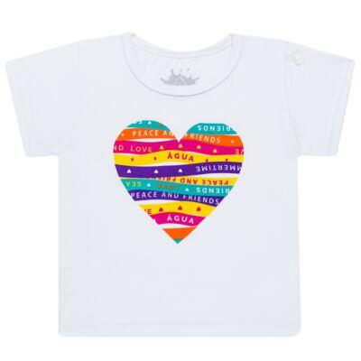 Imagem 2 do produto Conjunto de Banho Peace & Love: Camiseta + Biquíni - Cara de Criança - KIT 1 2586: B2586+CCA2586 BIQUINI E CAMISETA SUMMER-2