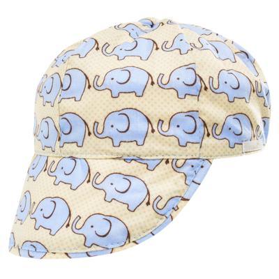 Imagem 4 do produto Conjunto de banho para bebê Little Elephant: Cobre Fralda + Boné - Roana - BSM00883005 BANHO DE SOL ELEFANTINHO BEGE-P
