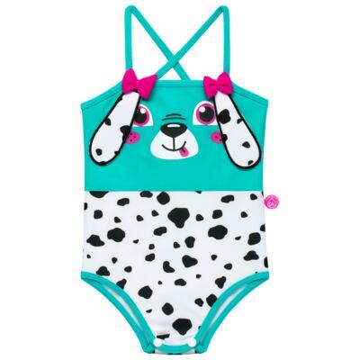 Imagem 2 do produto Conjunto de Banho para bebe Dalmatians: Camiseta + Maiô + Chapéu - Cara de Criança - KIT 1 2536: MB2536+CH2536+CCAB2536 MAIO E CHAPEU E CAMISETA DALMATA-M