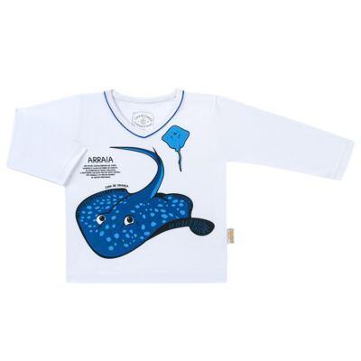 Imagem 2 do produto Pijama longo que Brilha no escuro Arraia - Cara de Criança - L2347 ARRAIA L PJ-LONGO M/MALHA-4