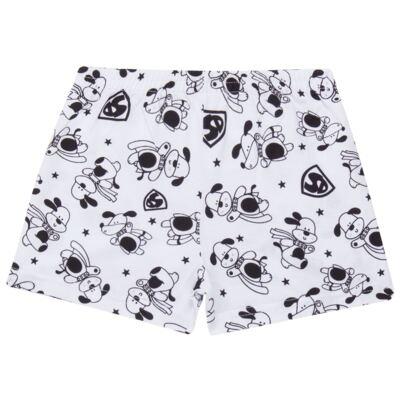 Imagem 3 do produto Pijama curto em malha Super Dog - Cara de Sono - U2462 SUPER DOG U PIJAMA-CURTO M/MALHA-2