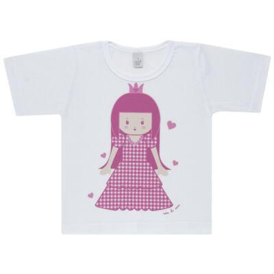 Imagem 2 do produto Pijama curto com Shorts em malha Princesinha - Cara de Sono - U1997 PRINCESINHA U PIJAMA-CURTO M/MALHA -2