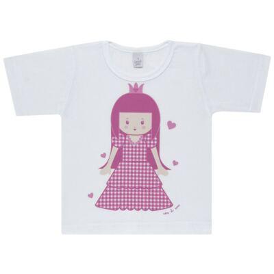 Imagem 2 do produto Pijama curto com Shorts em malha Princesinha - Cara de Sono - U1997 PRINCESINHA U PIJAMA-CURTO M/MALHA -3