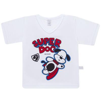 Imagem 2 do produto Pijama curto em malha Super Dog - Cara de Sono - U2462 SUPER DOG U PIJAMA-CURTO M/MALHA-3