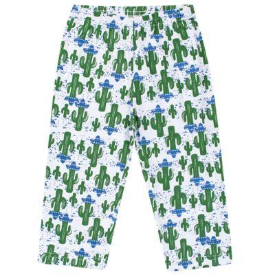 Imagem 6 do produto Pijama longo que Brilha no escuro Cacto - Cara de Criança - L2371 CACTUS L PJ-LONGO M/MALHA-4