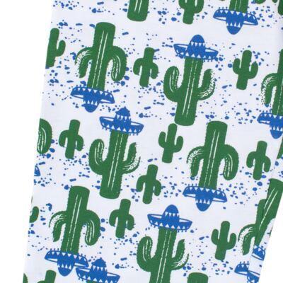 Imagem 7 do produto Pijama longo que Brilha no escuro Cacto - Cara de Criança - L2371 CACTUS L PJ-LONGO M/MALHA-4