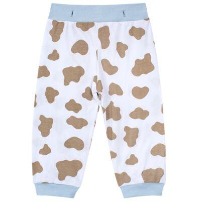 Imagem 6 do produto Pijama 4 botões que Brilha no Escuro Blue Dog - Cara de Criança - 4L2218 PET MENINO 4L PJ  BOTOES -LONGO M/MALHA-G