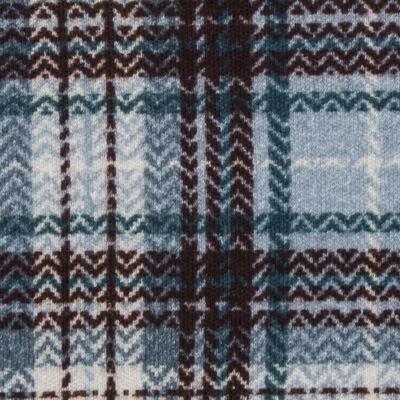 Imagem 3 do produto Body regata c/ Cobre Fralda para bebe em algodão egípcio Windsor - Roana - 02132024370 Body c/ Cueca Xadrez Azul -G
