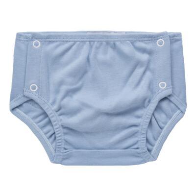 Imagem 4 do produto Body regata c/ Cobre Fralda para bebe em algodão egípcio Windsor - Roana - 02132024370 Body c/ Cueca Xadrez Azul -G