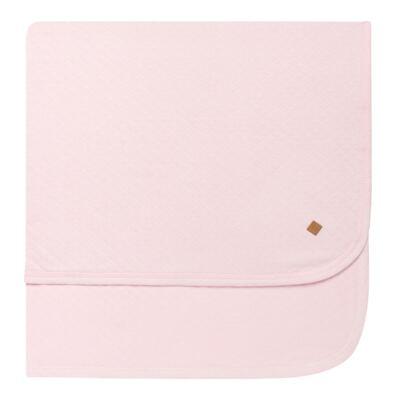 Imagem 3 do produto Jogo Maternidade com Macacão e Manta em viscomfort Ovelhinha Rosa - Petit - 47084344 JG. MAT. MACAC ML C/ GOLA MATELASSE OVELHA FEM -RN