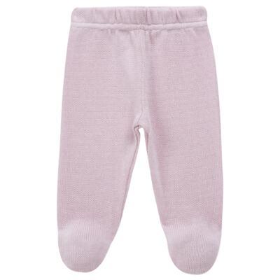 Imagem 5 do produto Vestido longo c/ Calça para bebe em tricot Anabel - Mini Sailor - 17954264 VESTIDO COM MIJAO TRICOT ROSA BEBE-0-3
