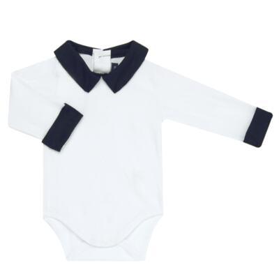Imagem 6 do produto Jogo Maternidade para bebe com Macacão + Body longo + Manta em tricot  Náutico - Mini Sailor - 47204443 Jogo Maternidade S Longo c/ Body Tricot Vermelho -NB