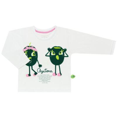Imagem 2 do produto Pijama longo que Brilha no Escuro Azeitoninha - Cara de Criança - L1638 AZEITONA L PJ-LONGO M/MALHA-1