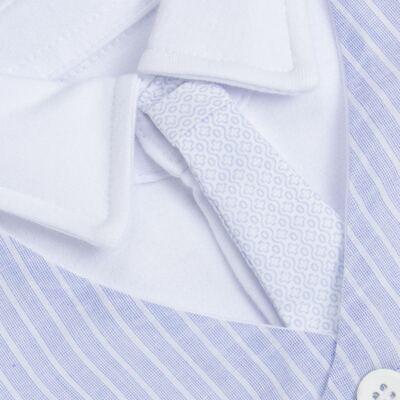 Imagem 3 do produto Jogo Maternidade com Macacão e Manta em algodão egípcio Harold - Bibe - 39Z39-01 CJ MATERNIDADE MASC-P