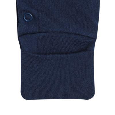 Imagem 5 do produto Jogo Maternidade com Macacão e Manta em algodão egípcio Harold - Bibe - 39Z39-01 CJ MATERNIDADE MASC-P