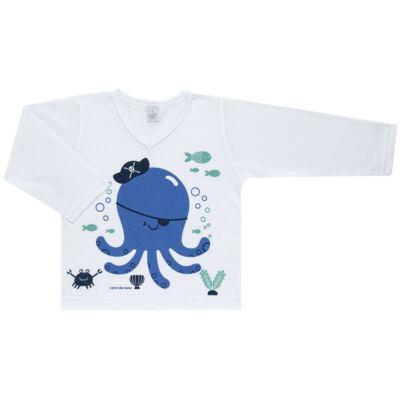 Imagem 2 do produto Pijama longo em malha Polvinho - Cara de Sono - L1991 POLVO L PJ-LONGO M/MALHA -2
