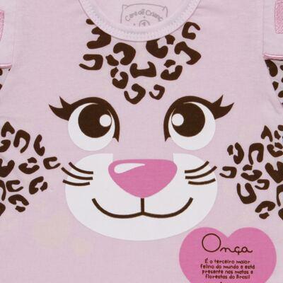 Imagem 3 do produto Pijama longo que Brilha no Escuro Oncinha - Cara de Criança - L1820 ONCA PINTADA L PJ-LONGO M/MALHA-3
