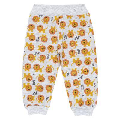 Imagem 6 do produto Pijama 4 botões que Brilha no Escuro Lion - Cara de Criança - 4L1943 REI LEAO 4L PJ 4 BOTOES - LONGO M/MALHA-GG