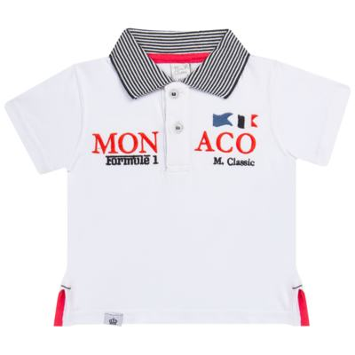 Imagem 1 do produto Camiseta polo em cotton Racing - Mini & Classic - 6012668 CAMISETA POLO M/C COTTON GRAND PRIX-3