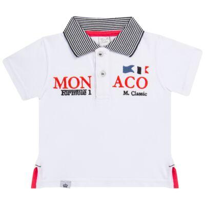 Imagem 1 do produto Camiseta polo em cotton Racing - Mini & Classic - 6012668 CAMISETA POLO M/C COTTON GRAND PRIX-RN