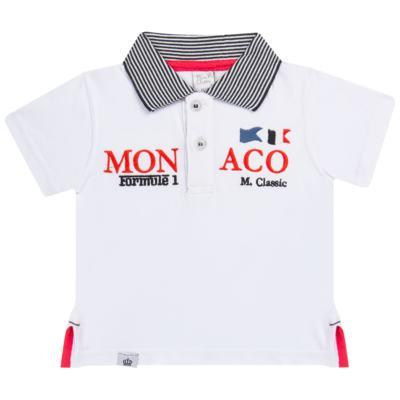 Imagem 1 do produto Camiseta polo em cotton Racing - Mini & Classic - 6012668 CAMISETA POLO M/C COTTON GRAND PRIX-P