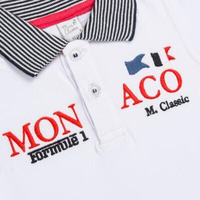 Imagem 2 do produto Camiseta polo em cotton Racing - Mini & Classic - 6012668 CAMISETA POLO M/C COTTON GRAND PRIX-P