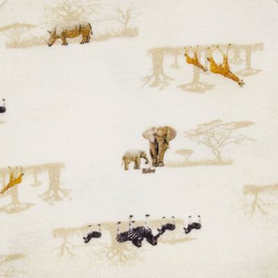 Imagem 2 do produto Regata para bebe em algodão egípcio Safari - Bibe - 38O02-G57 Regata Estampa Digital -GG