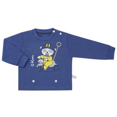 Imagem 2 do produto Pijama 4 botões que Brilha no Escuro Biel Bike - Cara de Criança - 4L2338 BIEL BIKE 4L PJ 4 BOTOES-LONGO M/MALHA-P