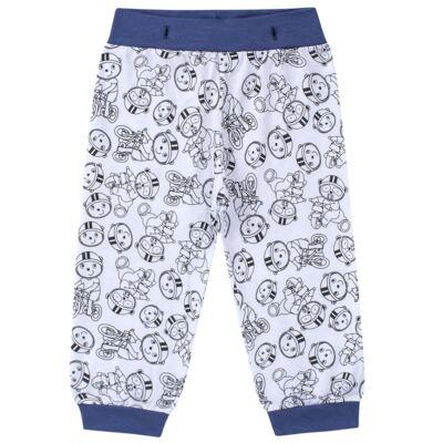 Imagem 6 do produto Pijama 4 botões que Brilha no Escuro Biel Bike - Cara de Criança - 4L2338 BIEL BIKE 4L PJ 4 BOTOES-LONGO M/MALHA-G
