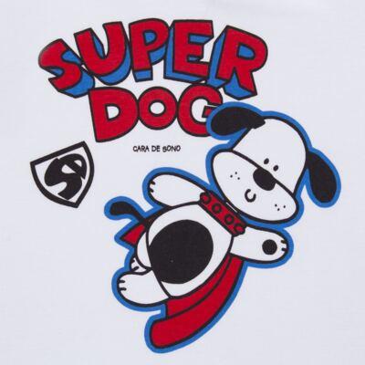 Imagem 3 do produto Pijama longo em malha Super Dog - Cara de Sono - L2462 SUPER DOG L PJ-LONGO M/MALHA-2