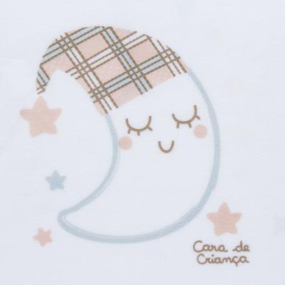 Imagem 3 do produto Pijama longo que Brilha no Escuro em soft Sleepy Moon - Cara de Criança - S2368 LUA S PIJAMA-SOFT SOFT-3