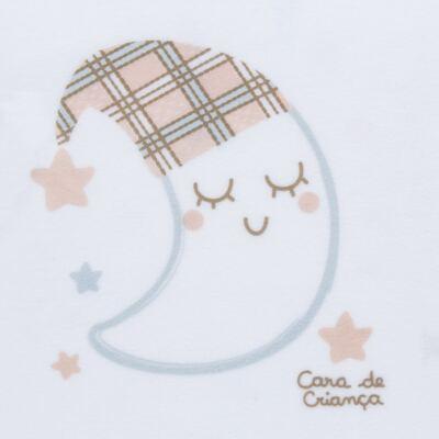 Imagem 3 do produto Pijama longo que Brilha no Escuro em soft Sleepy Moon - Cara de Criança - S2368 LUA S PIJAMA-SOFT SOFT-2