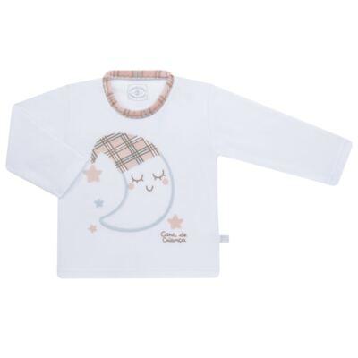 Imagem 2 do produto Pijama longo que Brilha no Escuro em soft Sleepy Moon - Cara de Criança - S2368 LUA S PIJAMA-SOFT SOFT-4